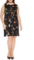 WORTHINGTON Worthington Sleeveless Shift Dress-Plus