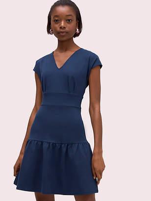 Kate Spade Ponte Flounce Dress