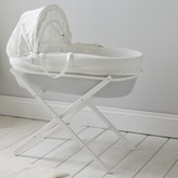 The White Company Moses Basket Folding Stand, White, One Size