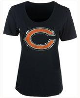 '47 Women's Chicago Bears Lux Sequins Scoop T-Shirt