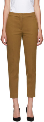Max Mara Brown Pegno Trousers