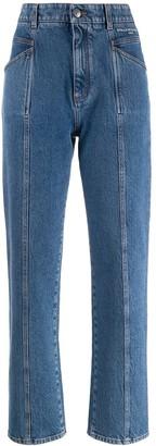 Stella McCartney Stitched Straight Jeans