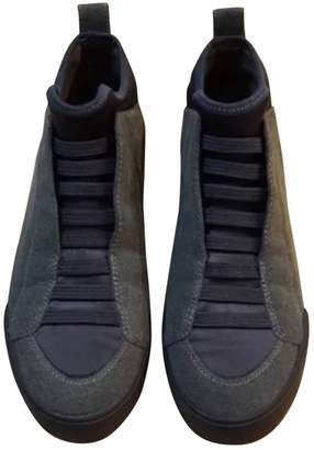 3.1 Phillip Lim Grey Suede Trainers
