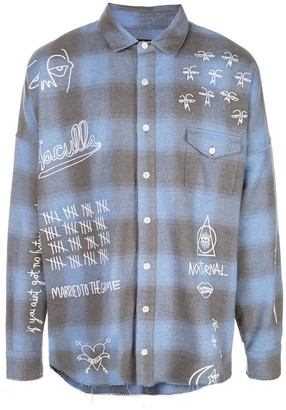 Haculla Nocturnal woven shirt