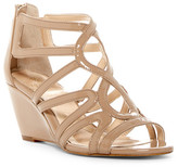 Isola Flora Patent Wedge Sandal