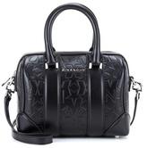 Givenchy Lucrenzia Micro Black Leather Shoulder Bag