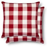 Gingham Throw Pillow 2 Pack - Threshold