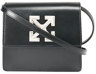 Off-White Jitney 0.7 Leather Crossbody Bag