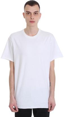 John Elliott Anti Expo Tee T-shirt In White Cotton