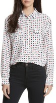 Equipment Women's Signature Print Silk Shirt