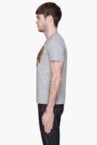Comme des Garcons Heather Grey Gold Foil T-Shirt