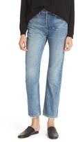 Vince Women's Vintage Straight Leg Crop Jeans
