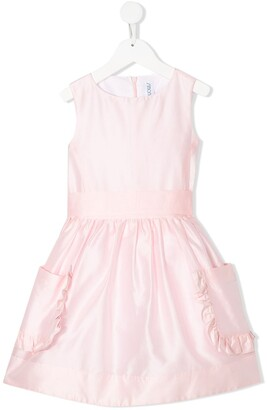 Simonetta Sleeveless Bow Detail Dress