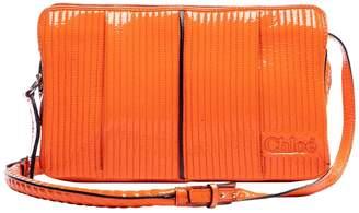 Chloé Heloise Orange Patent leather Handbags