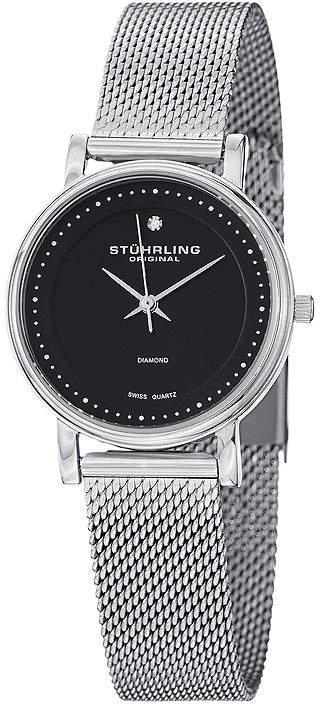 Stuhrling Original Sthrling Original Womens Stainless Steel Mesh Watch 7346.02