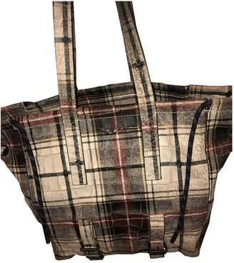 Zadig & Voltaire White Leather Handbags