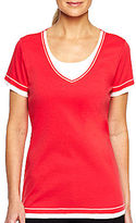 JCPenney Made For LifeTM Layered Tee