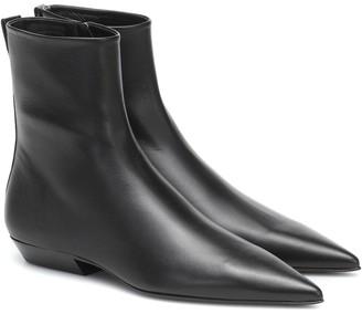 Jil Sander Leather ankle boots