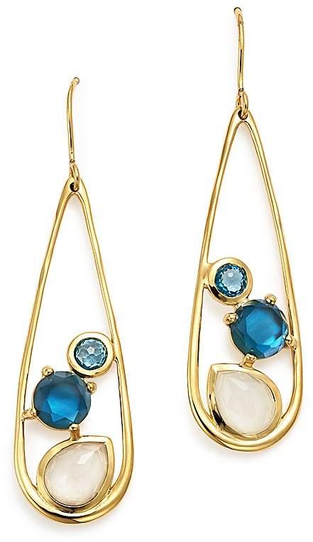 Ippolita 18K Yellow Gold Rock Candy® Multi Stone Doublet Drop Earrings in Raindrop