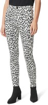 Joe's Jeans The Charlie Animal Print Ankle Skinny Jeans