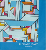 Richard James Mondrian Geometric Silk Pocket Square