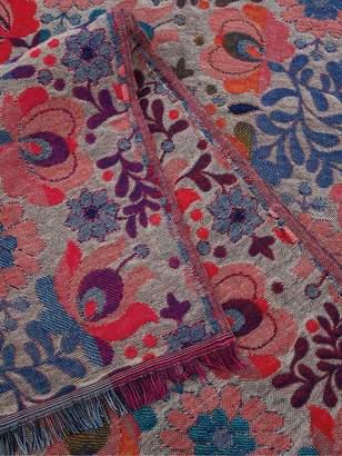 Monsoon Florence Floral Jacquard Blanket Scarf