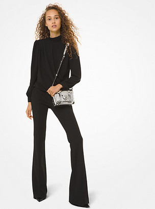 Michael Kors Stretch-Twill Flared Pants