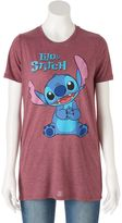 Disney Disney's Juniors' Lilo & Stitch Graphic Tee
