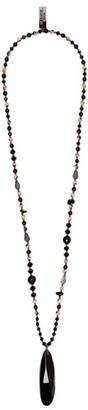 Max Mara Beaded Pendant Necklace