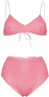 Oseree Lumière high-rise bikini set