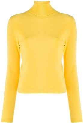 Ermanno Ermanno Fine Knit Roll Neck Jumper