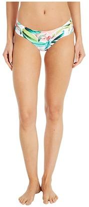 Trina Turk Costa De Prata Reversible Side Shirred Hipster Bikini Swimsuit Bottoms (Multi) Women's Swimwear