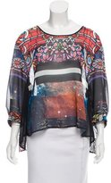 Clover Canyon Printed Long Sleeve Blouse