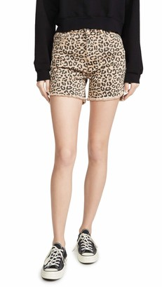 DL1961 Women's Hepburn High Rise Wide Leg Shorts