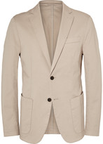 HUGO BOSS Stone Narvik Slim-Fit Stretch-Cotton Twill Blazer