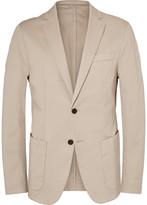 HUGO BOSS Stone Narvik Slim-Fit Stretch-Cotton Twill Blazer