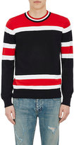 Givenchy Men's Striped Cotton Crewneck Sweater