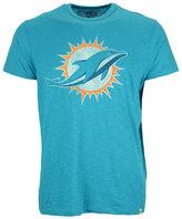 '47 Men's Miami Dolphins Logo Scrum T-Shirt