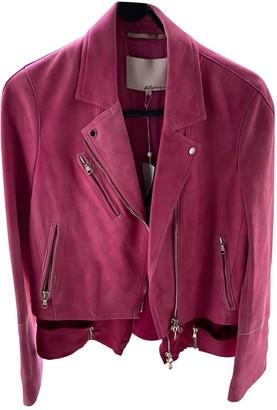 3.1 Phillip Lim Pink Suede Jacket for Women