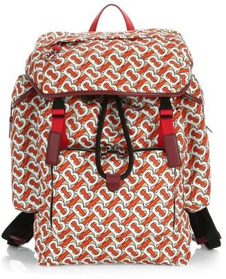 Burberry Ranger Monogram Print Backpack