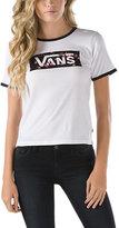Vans Rose Box Ringer T-Shirt