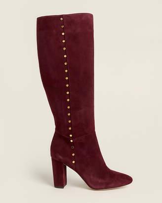 Lauren Ralph Lauren Bordeaux Atherton Tall Suede Boots