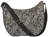 Borbonese Women's Multicolor Polyester Shoulder Bag.