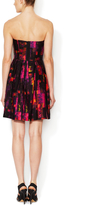 Shoshanna Kendall Strapless A-Line Cotton Dress