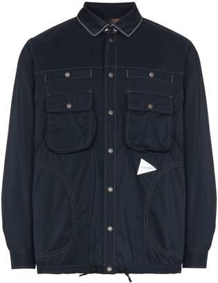 and Wander reversible checked shirt jacket
