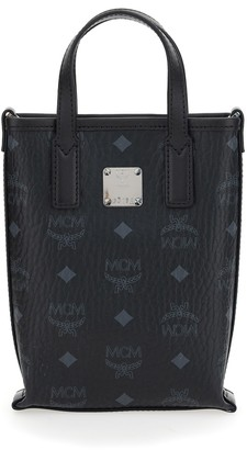 MCM Visetos Tote Bag