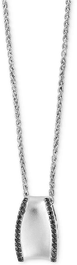Effy Balissima by Diamond Pendant Necklace (1/3 ct. t.w.) in Sterling Silver