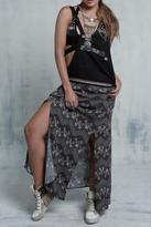 Llena eres de Gracia Overall Maxi Skirt
