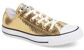 Converse Women's Chuck Taylor All Star Snake Ox Sneaker