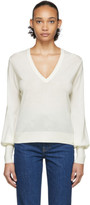 Chloé Off-White Wool Sweater